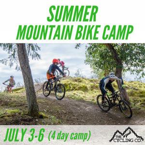 Summer Mountain Bike Camp - July 3-6